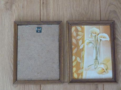 Kvetinové obrázky 2ks,