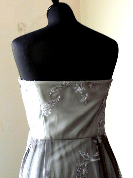 sivé šaty, 40