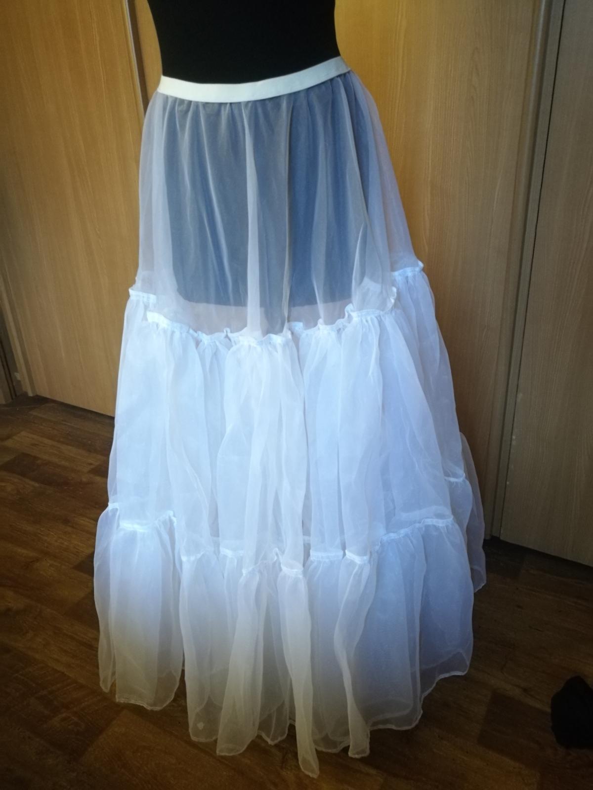 60077bb33ed4 Spodnica pod svadobné šaty
