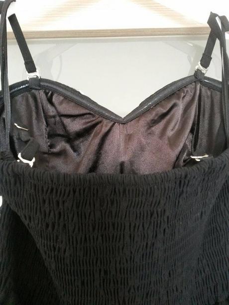 Černé dlouhé šaty M/L, 38
