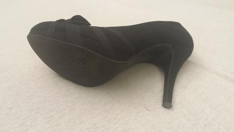 Čierne spoločenské topánočky, 38