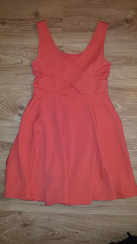 Dámske marhuľkové šaty, M