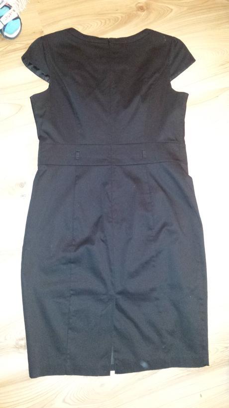 Elegantné spoločenské šaty - čierne, 42