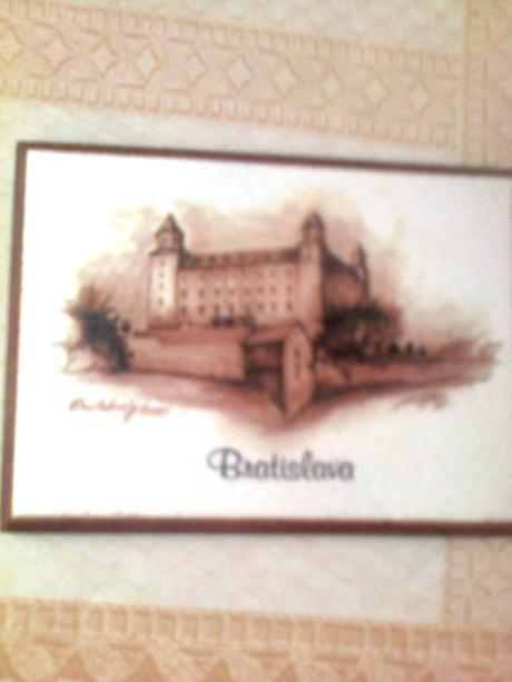 magnetka pre zberateľa Bratislava,