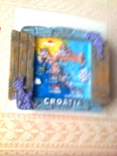 magnetka z Chorvátska,