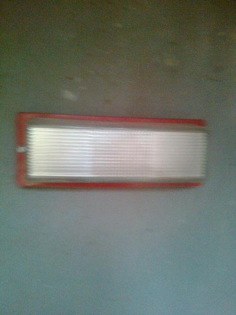 technická  lampa sklo a kov do interiéru,