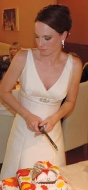 Elegantní svatební šaty Naive, 36