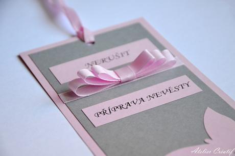 Cedulka-příprava nevěsty II.,