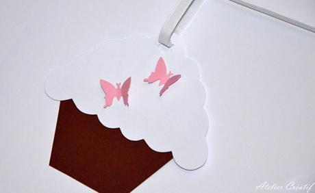 Girlanda-cupcakes (100 cm),