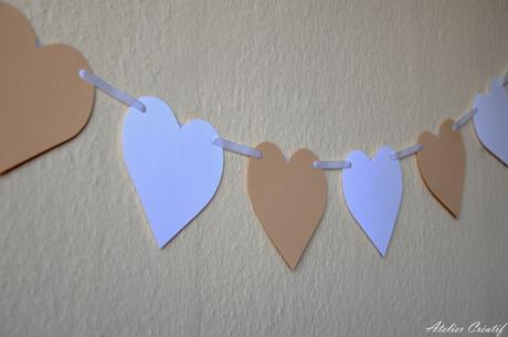 Girlanda-srdce (100 cm),