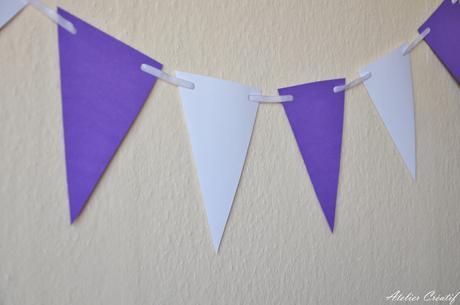 Girlanda-vlaječky (100 cm),
