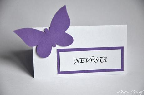 Jmenovka-motýl I.,