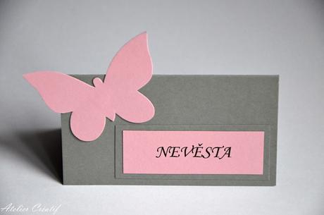 Jmenovka-motýl III.,