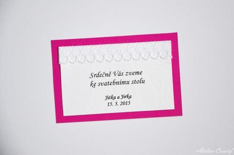 Pozvánka ke svatebnímu stolu III.,