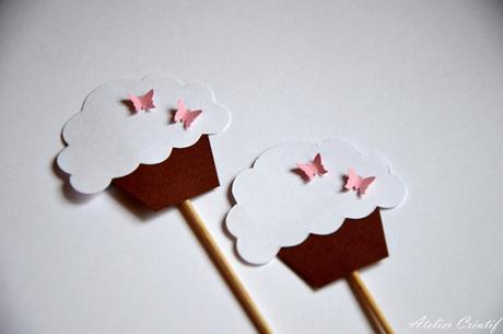 Rautová napichovátka-cupcakes I.,