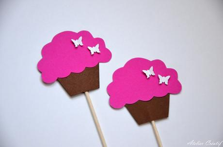 Rautová napichovátka-cupcakes II.,