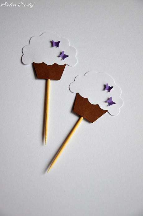 Rautová napichovátka-cupcakes III.,