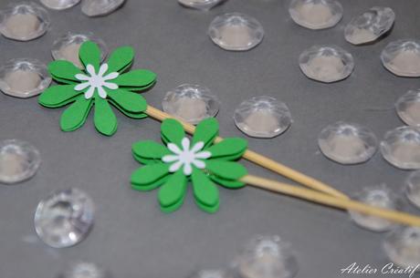 Rautová napichovátka-květina I.,