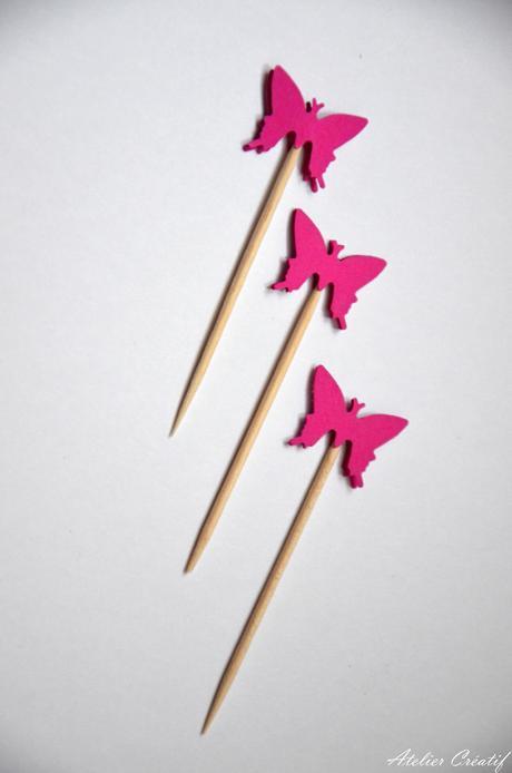 Rautová napichovátka-motýl I.,