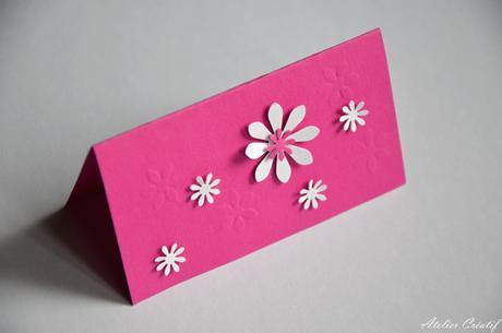 Svatební jmenovka-květinová I.,