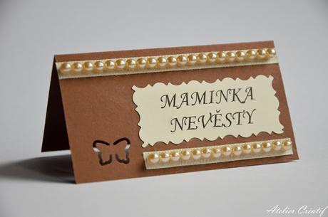 Svatební jmenovka-perličky II.,