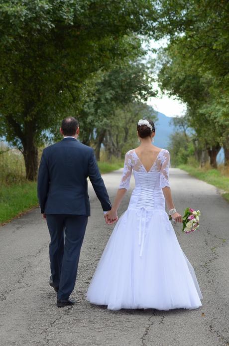 Svadobné šaty 36-40, 38