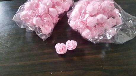Penové ružičky,
