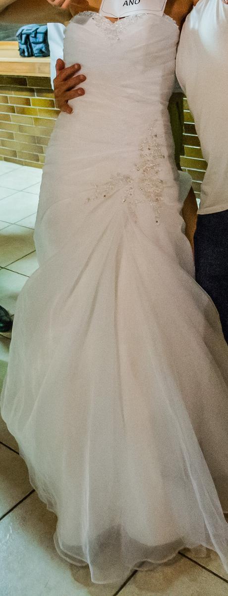 Svatební šaty vel. 36 - 38, 36