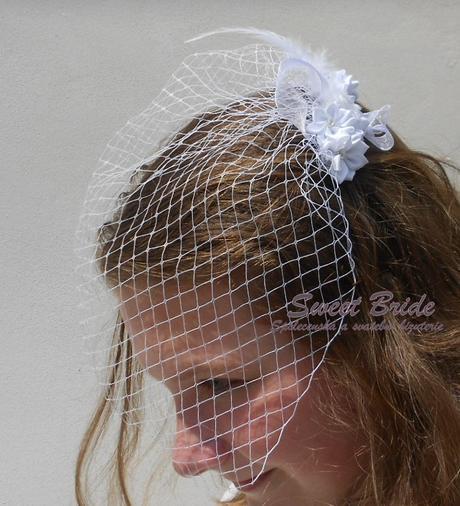 Francouzský závoj Sweet Bride 03-SKLADEM,