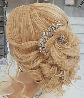 Kamínková tiara Sweet bride 58-SKLADEM,