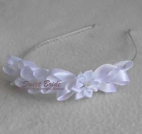 Svatební čelenka Sweet Bride 04-Skladem,