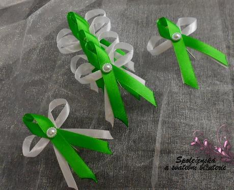 Vývazky zelené malé 17,