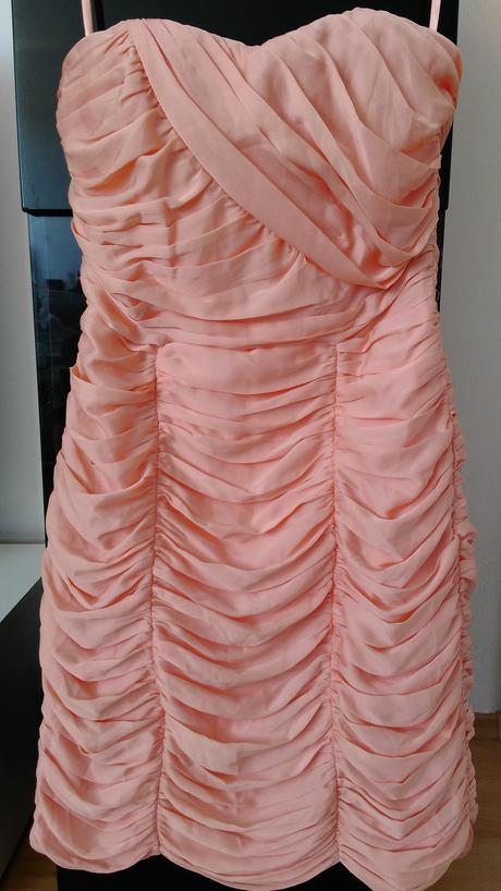 Řasené korzetové šaty H&M, 40