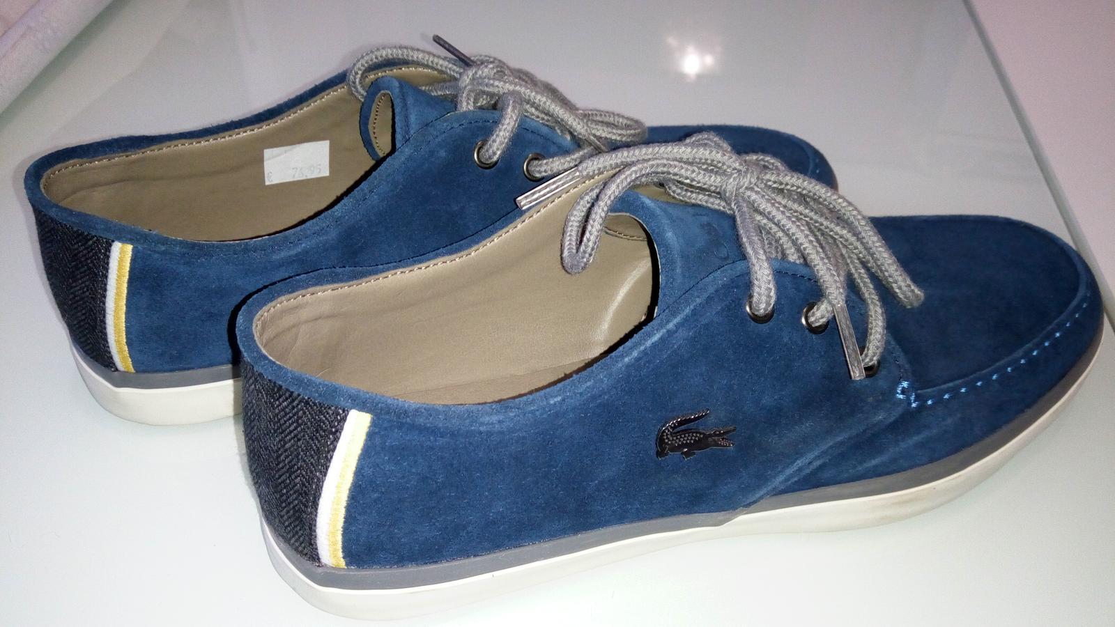 91c327133b94 Zavri podmienky predaja. Pánske Lacoste topánky