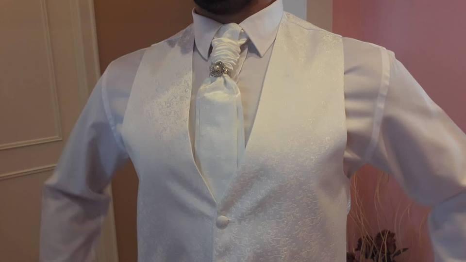 f78e3f121 Svadobná vesta + kravata + vreckovka, 50 - 40 € | Svadobný bazár |  Mojasvadba.sk