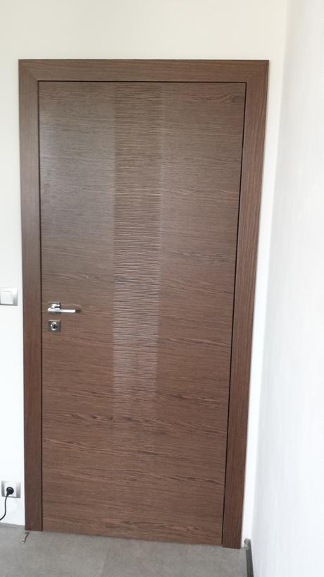 4x Dýhované bezfalcové dveře,