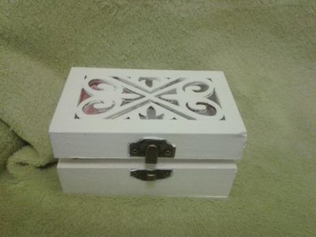 Krabička na obrúčky ,