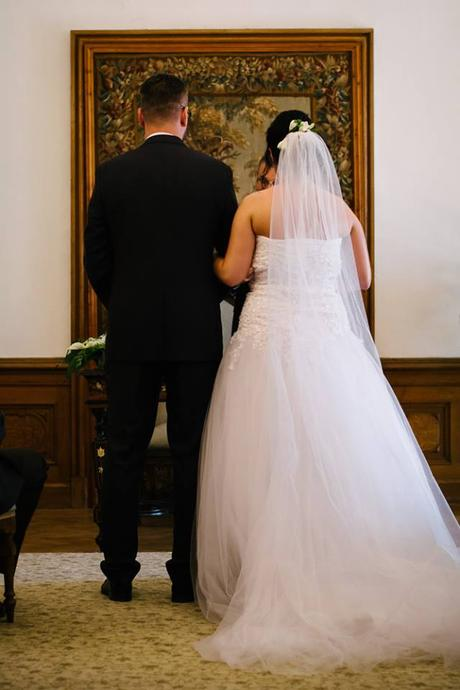 svatební šaty velikost 38-42, 40