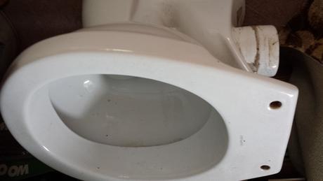 záchodová misa - bočná (zadná) nie kombi,