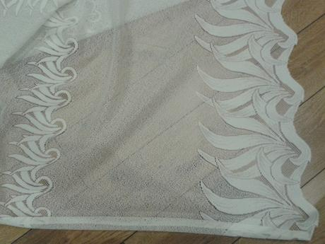 Záclona, biela - TOP stav,