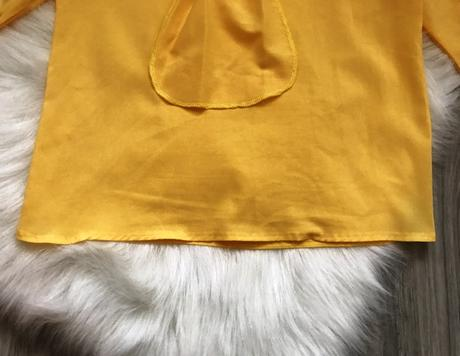 Žltá blúzka, L