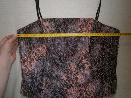 dvojdielne korzetové šaty + štóla, 38