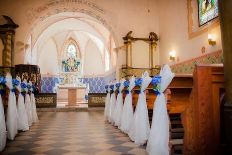 Závěsné dekorace s modrou hortenzií ,