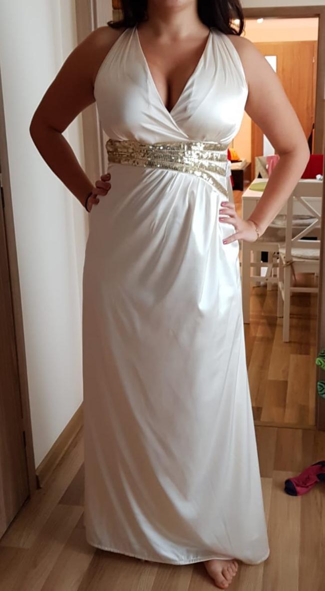 76865ca7b1df Šaty gréckeho štýlu veľkosť 40