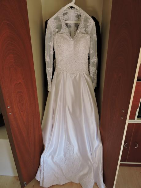 Svadobné šaty 36vel - model princezná Kate, 36