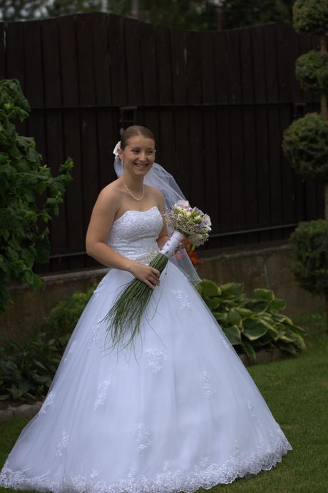 Svadobné šaty č. 34-36, 36