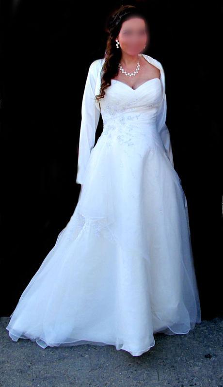 Luxusné svadobné šaty st.patric za skvelu cenu, 38