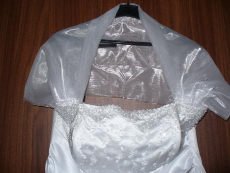 svatební šaty vel 42-46, 42
