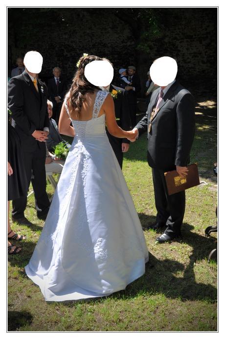 svatební šaty (vel. 38 - 40), 38