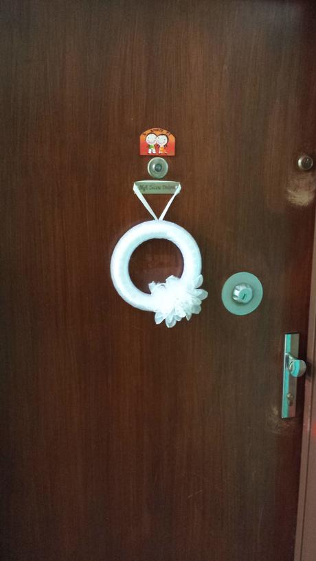 veniec na dvere,